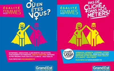 Prix Régional 2019 pour l'égalité et la mixité !