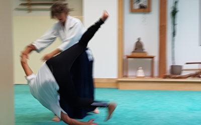 La prise de confiance en soi passe aussi par le corps : initiation des membres du réseau à l'Aikido